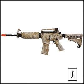 Rifle Airsoft M4A1 Navy Seals - 6mm - DD - King Arms