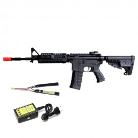 Airsoft M4A1 CAA Custom King Arms + Kit Lipo I