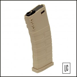 Magazine Airsoft M4 - Mid Cap - 120 BB's - G&G - Tan Edition