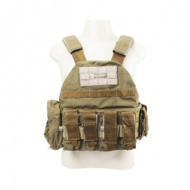 Colete Tático Plate Carrier Dacs Coyote