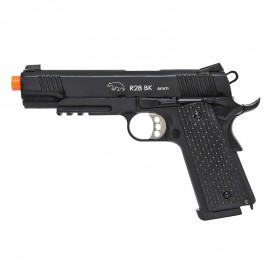 Pistola Airsoft GBB M1911 R28 Warrior Full Metal BlowBack Army