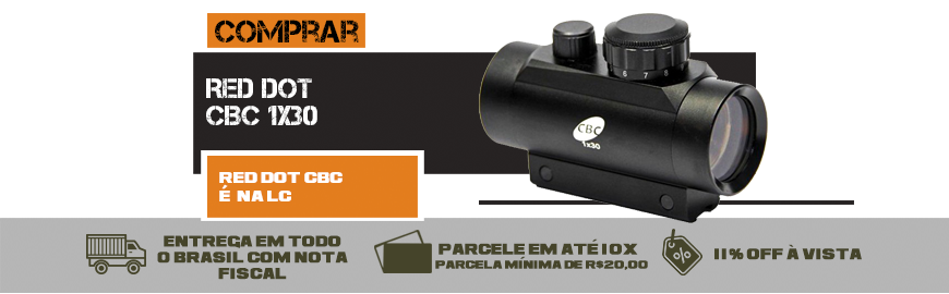 Red Dot CBC - Trilho 11 mm